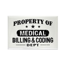 Medical Billing and Coding Rectangle Magnet