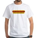 Legal Insurrection White T-Shirt with Logo
