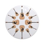 Accoustic Guitar Ornament (Round)
