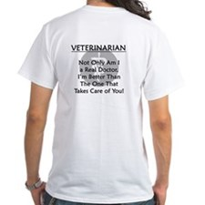 Veterinarian A Real Doctor Shirt