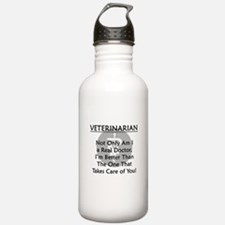 Veterinarian A Real Doctor Water Bottle