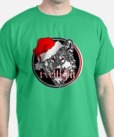 Twilight Christmas Wolf by Twibaby T-Shirt