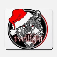Twilight Christmas Wolf by Twibaby Mousepad
