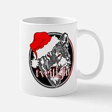 Twilight Christmas Wolf by Twibaby Mug