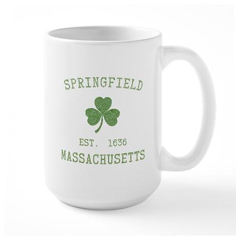Springfield MA Large Mug