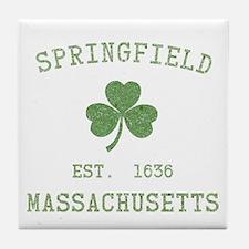 Springfield MA Tile Coaster