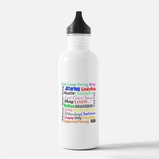 All Swing Dances Water Bottle