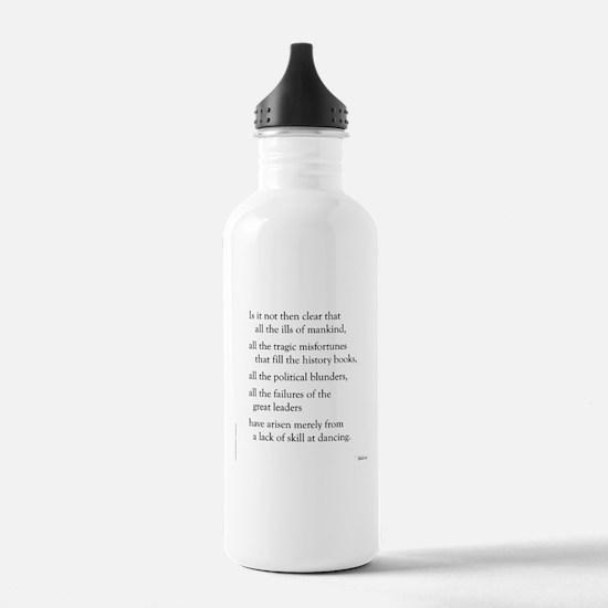 Moliere on Dance Water Bottle