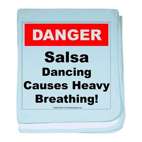 Danger Salsa baby blanket