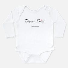 Dance Diva Long Sleeve Infant Bodysuit