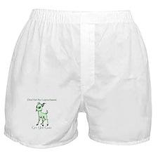 Irish Get Yer Goat Boxer Shorts