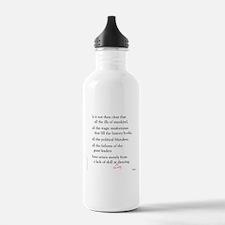 Moliere on Swing Dance Water Bottle