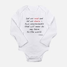 Voltaire On Dance Long Sleeve Infant Bodysuit