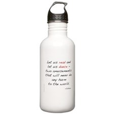 Voltaire On Dance Sports Water Bottle