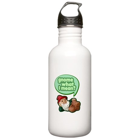 Gnome What I Mean Stainless Water Bottle 1.0L