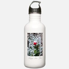 Rose / Happy new year - Water Bottle