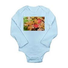 Funny Bright colored Long Sleeve Infant Bodysuit