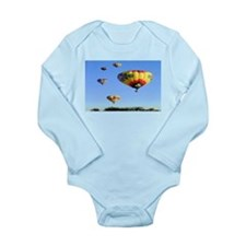 Hot Air Balloons Long Sleeve Infant Bodysuit