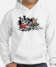 Rock music Jumper Hoody