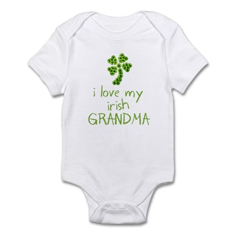 I Love My Irish Grandma Infant Bodysuit