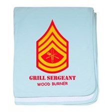 Grill Sgt. baby blanket
