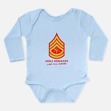 Grill Sgt. Long Sleeve Infant Bodysuit