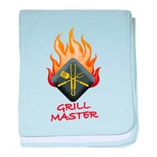 Grill Master baby blanket