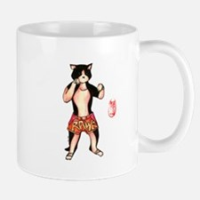 Muay Thai Cat Mug