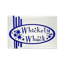 Whickety Whack Rectangle Magnet
