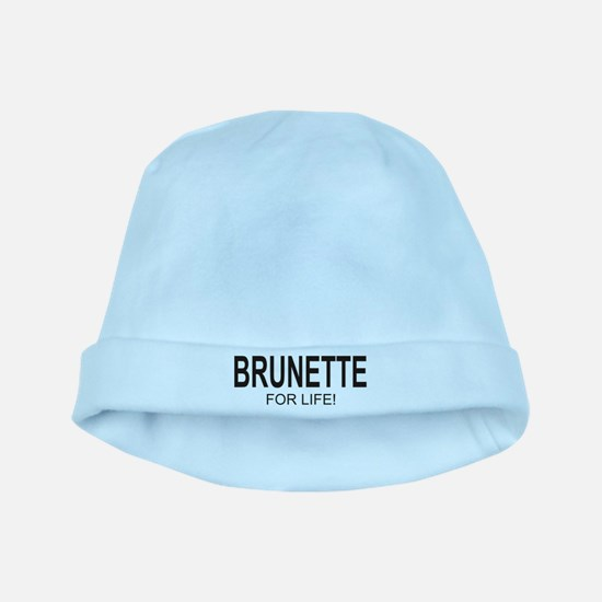 Brunette For Life baby hat