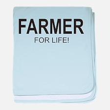 Farmer For Life baby blanket