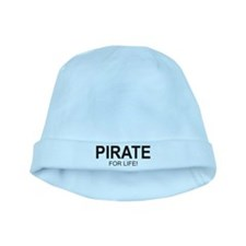 Pirate For Life baby hat
