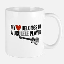 My Heart Ukulele Player Mug