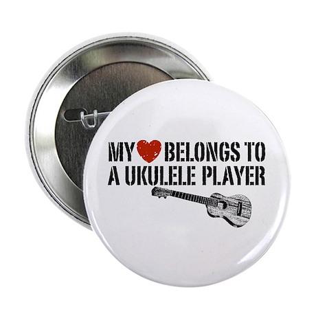 "My Heart Ukulele Player 2.25"" Button"