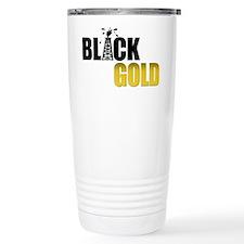 Black Gold Oil Travel Mug