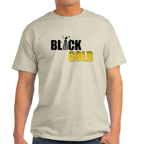 Black Gold Oil Light T-Shirt