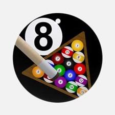8-ball Ornament (Round)