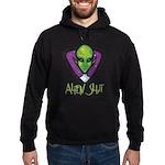 Alien Slut Hoodie (dark)