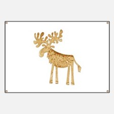 Holiday Moose Banner