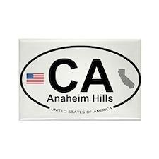 Anaheim Hills Rectangle Magnet