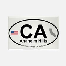 Anaheim Hills Rectangle Magnet