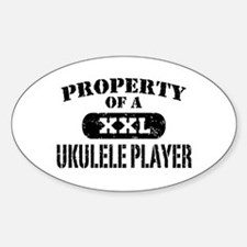 Property of a Ukulele Player Decal