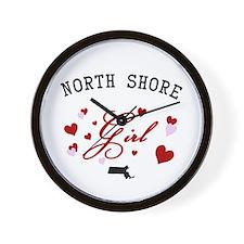North Shore Girl Wall Clock