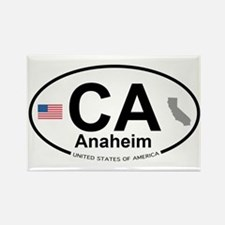 Anaheim Rectangle Magnet