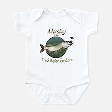 Musky,Predator Infant Bodysuit
