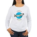 Tiger musky Women's Long Sleeve T-Shirt