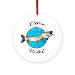 Tiger musky Ornament (Round)
