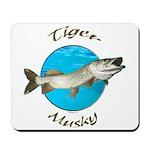 Tiger musky Mousepad