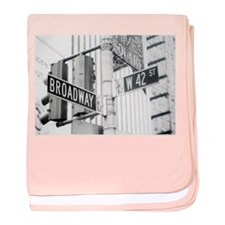 NY Broadway Times Square - baby blanket