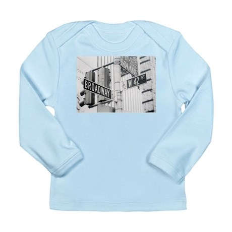 NY Broadway Times Square - Long Sleeve Infant T-Sh